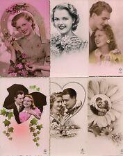 MOOI LOT VAN 6 FANTASIEKAARTEN***ROMANTIEK***1935