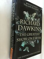 The Greatest Show on Earth The Evidence for Evolution by Richard Dawkins 1st Ed