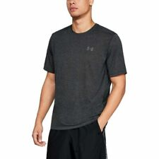 Under Armour Men's Siro Short Sleeve Shirt Xxl Black full Heather Nwt