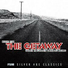 THE GETAWAY Jerry Fielding REJECTED SCORE + EXTRA DVD 1/2 hr documentary SEALED