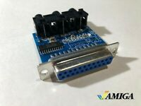 Amiga DB23 Video to Components adapter