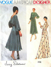 1979 Vintage VOGUE Sewing Pattern DRESS B36 (1860) By Jerry Silverman