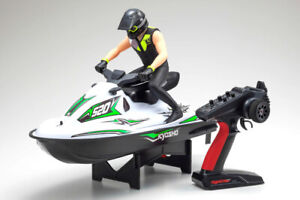 Kyosho RC WAVE CHOPPER  2.4ghz Water Proof Ready To Run -RTR- GREEN
