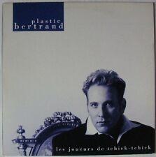 """PLASTIC BERTRAND (MAXI 45T 12"""")  LES JOUEURS DE TCHICK TCHICK"""