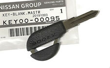 300ZX (Z32) Uncut Master Ignition Door Key Blank, Black, KEY00-00095, OEM NEW!