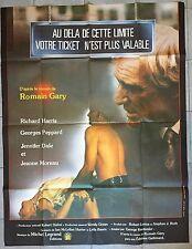 Affiche AU-DELA DE CETTE LIMITE VOTRE TICKET N'EST PLUS VALABLE120x160