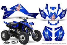 SUZUKI LTZ 400 09-15 GRAPHICS KIT CREATORX DECALS YOU ROCK BL