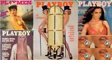 RIVISTE PLAYBOY ITALIA COLLEZIONE CON TANTISSIMI NUMERI DAL 1972 AL 2013
