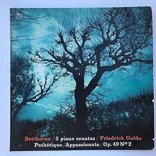 Beethoven /3 piano sonatas/ Friedrich Gulda/Op 49 N 2 Concert Hall Music Records