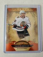 Alex Debrincat 2020-21 UD Artifacts Autumn Parallel 70/75 Chicago Blackhawks