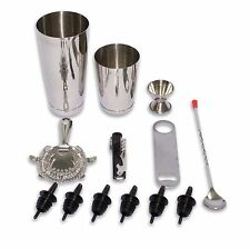 Bartending Starter Kit 13 Piece Stainless Steel Professional Bar Set Bar Tools