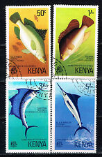 Kenia Fauna Game Fish of East Africa set 1977