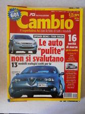 CAMBIO n°3 2002 Pugeot 307 HDI Alfa Romeo 156 Hyundai Coupè [MS9B]