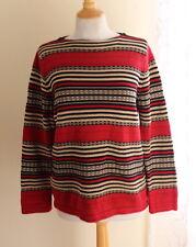 Ralph Lauren -Sz P/S PS Fantastic Chief's Blanket Southwest Indian Knit Sweater