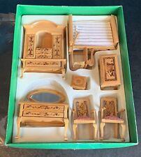 Maison de poupées miniatures échelle 1//12th ancien téléphone mural D1525 neuf