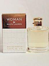 4869e68d2817 WOMAN by Ralph Lauren Eau De Parfum Mini Perfume 0.23oz   7ml NEW IN BOX