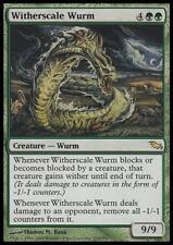 WITHERSCALE WURM - MTG Shadowmoor Rare Creature