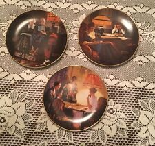 Norman Rockwell's Light Campaign Series Collector's Plates: 1st, 3rd, and 4th