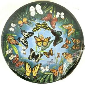 1966 Springbok Circular Puzzle Butterflies by Jean Zallinger C924 New Sealed NOS