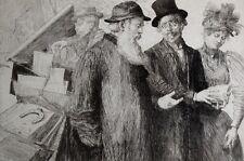 1893 1896 Bouquinistes des Quais de Paris Uzanne Exemplaires à relier Heidbrinck