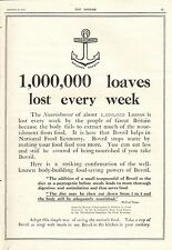 More details for 1917 antique print- ww1-advert -bovril-1,000,000 loaves lost every week