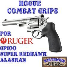 NEW Hogue RUGER 80010 Rubber COMBAT Grip GP100 Super Redhawk Alaskan gp 100