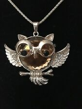 Gem Great For Teacher Appreciation! Golden Owl With A Large Brown