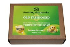 Turpentine Soap for Skin Conditions