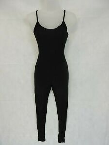New Look Strappy Catsuit Black UK 8 RRP £17.99 LN019 RR 10