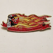 More details for rare metal pin badge 81 nomads angels outlaw 1% hells bikers steel mc patch gift