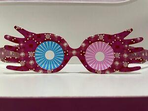 HP⚡ Luna Lovegood pink Spectre Specs Glasses. NEW Pink & Blue! UK Seller 🇬🇧