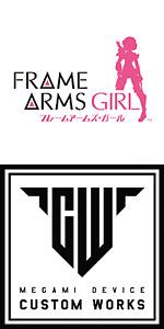 Kotobukiya MEGAMI DEVICE & Frame Arms Girl genuine replacement parts