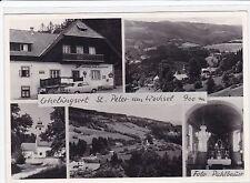 NÖ Ak Gasthof,  St.Peter am Wechsel, Gasthaus Peterwirt, Aspangberg - St.Peter