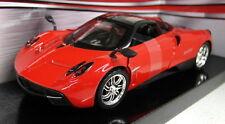 Motormax 1/24 Scale 79312 Pagani Huayra Red Supercar Diecast model car
