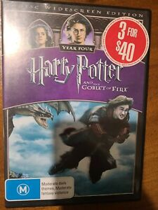 Harry Potter And The Goblet Of Fire disc exc cond and free post