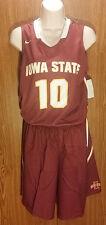 Iowa State Cyclones Med Womens Basketball Jersey/Shorts Uniform Nike #10