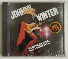 Johnny Winter Captured Live! CD  USA 1990 precintado