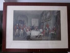 The Melton Breakfast - Grant / Lewis Gravure Originale 1839 London