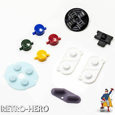 SNES Game Boy Zero Buttons DMG Conductive Rubber Pi RetroPie Knöpfe Gummipads GB