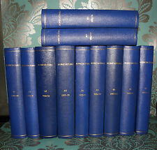 **The Journal of the Ministry of Agriculture- 11 volumes- 1950/1960 .Collectible