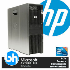 PCs de sobremesa y todo en uno Windows 7 HP Intel Xeon Quad Core