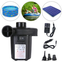 Portable Electric Air Pump Outdoor Camping Swimming Pool Bed Inflator Equipment