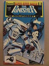 Punisher Annual #1 Marvel Comics 1987 Series 9.2 Near Mint-