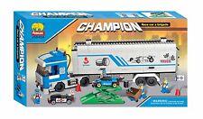 Woma Champion Truck mit 3 Mini-Racing Autos und Hebebühne