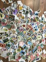 New Zealand stamps off paper 100 picked at random