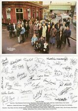 Eastenders Original Vintage 8x6 Castcard - Pre Printed Signatures on Back
