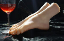 Size 36 Lifelike Silicone Female Legs Feet Mannequin Shoes Socks Show Model