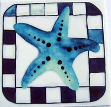 Starfish Rub On Permanent Transfer Decal Glass Tiles Plastic Scrapbooking DT55