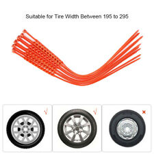 """10 pcs Universal Nylon Anti-skid Chains Car Truck Wheel Tyre Tire Cable Ties 22"""""""