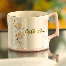 Belleek Parian China Baby/Christening Cup Personalized GIRL Made in Ireland